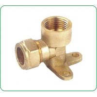China COMPRESSION BRASS FITTINGS FOR COPPER PIPES on sale