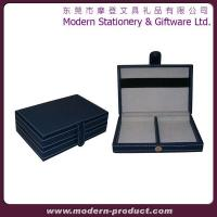 China Exquisite High grade Leather Playing card box wholesale