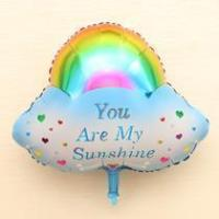 China Fancy Inflatable Self Sealing Foil Hydrogen Helium Balloons For Kids wholesale