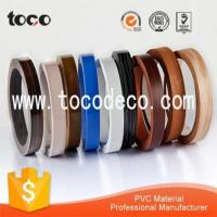 Buy cheap 1*22 rubber cabinet edging strip for MDF Board from wholesalers
