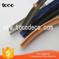 Quality flexible T shaped plastic edge seal strip from manufacturer for sale