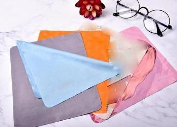 Quality cleaning cloth China Low Price Glasses Microfiber Cloth with Logo Manufacturers for sale