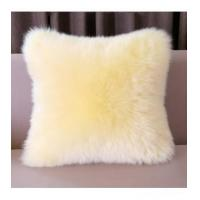 China Cushion China Supplier Colorized Real Mink Fur Decorative Pillow wholesale
