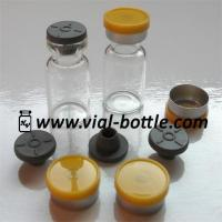 China medical grade glass vials 2ml, sterile rubber stoppers and flip top caps wholesale