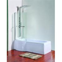 Buy cheap P Shaped Bath Screen from wholesalers