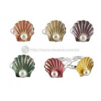 China Seashell Pearl Ring wholesale