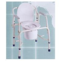 China Deluxe Double Armrest Moveable Commode wholesale
