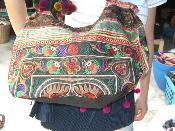 Buy cheap Hmong Hill Tribe boho tote bag from baby carrier 017 from wholesalers