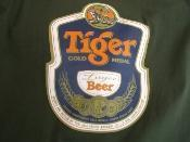 Buy cheap BEER Tiger Tshirt Singapore from wholesalers