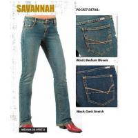 China Savannah Jeans by Lawman. Medium Woven on sale