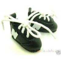 China Blythe/Pullip Shoes Micro N Sneakers Leather Black wholesale
