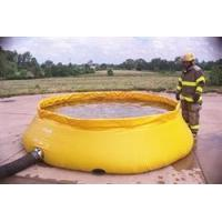 China Self-Supporting Frameless Portable Water Tank Fire Department Model (Low Side) wholesale