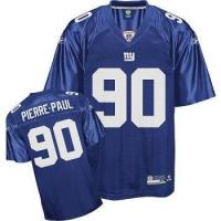 China #90 Jason Pierre-Paul Premier Blue New York Giants Jersey on sale