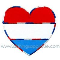 China Red White Blue Heart wholesale