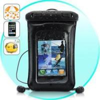 China Waterproof Case for iPhone, iPod Touch, Android Smartphones with Waterproof Earphones wholesale