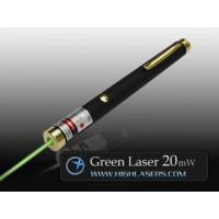 China Invader Series 532nm 20mW Green Laser Pointer wholesale