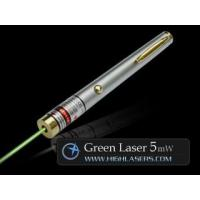 China Helios Series 532nm 5mW Green Laser Pointer wholesale