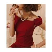 China European Fashion Style Sleeveless Off the Shoulder Boat Neck Bowtie Lady Night Out Dress wholesale