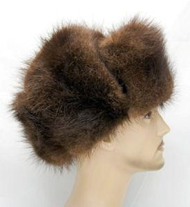 Quality Russian Hat (Beaver) - Genuine Fur Hat by Northern Hats for sale