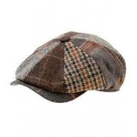 China Newsboy Cap (Brown) - 8/4 Style Niklas by Wigens wholesale