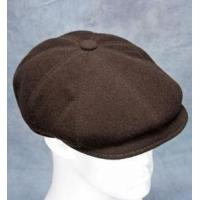 China Newsboy Cap (Brown Dark) - Wool/Cashmere Blend by Northern Hats wholesale