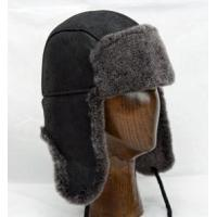 Buy cheap Aviator Hat (Black) - 100% Sheepskin by Northern Hats from wholesalers