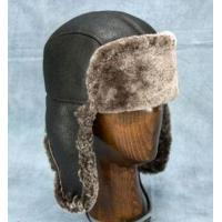 Buy cheap Aviator Hat (Brown Dark) - 100% Sheepskin by Northern Hats from wholesalers