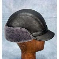 China Elmer Fudd Hat (Black) - 100% Sheepskin by Northern Hats wholesale