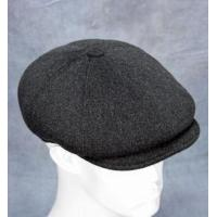 China Newsboy Cap (Grey Charcoal) - Wool/Cashmere Blend by Northern Hats wholesale