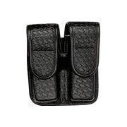 Buy cheap Bianchi 7902 Double Mag Pouch - Basket Black, Brass 22197 from wholesalers
