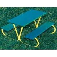 Wholesale Preschool Rectangular Picnic Table in Green FinishItem #: 185676 from china suppliers