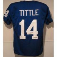 China YA Tittle New York Giants Jersey w/HOF 71 on sale