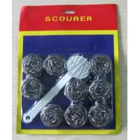 China A6115D s/10 wire scourer with handle stocks wholesale