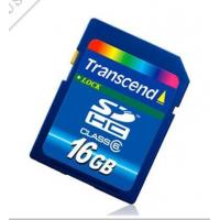 Buy cheap 16GB transcend momery card from wholesalers