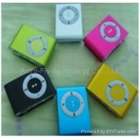 China Popular MP3 Player in iPod shuffle Shade without Screen on sale