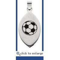 "China Magnetic Jewelry ""Soccer Mom"" Magnetic Pendant w/5 Magnets wholesale"