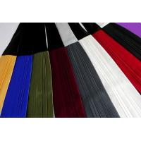 China Two Tone Silk Pleated Ties - 8 Color Combinations on sale