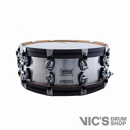 ayotte ak series snare drum stainless steel shell wood hoops chrome hardware of. Black Bedroom Furniture Sets. Home Design Ideas