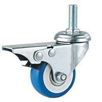 China 02-Grey PVC/Rubber caster wholesale