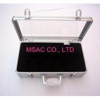 China Personalized Silver Aluminum Watch Case / Watch Boxes , Acrylic Watch Cases wholesale
