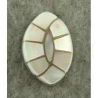 China Indian Jewelry Mother of Pearl Inlaid Tie Tac on sale
