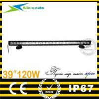 China best price 39inch 120W cree chips LED driving light bar IP67 for SUV ATV 10800 Lumen WI9012-120 wholesale