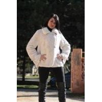 Buy cheap Mink Fur Jacket White Mink Collar sizes from wholesalers