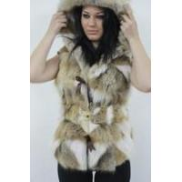 Buy cheap Coyote Fur Vest Hooded Belt from wholesalers