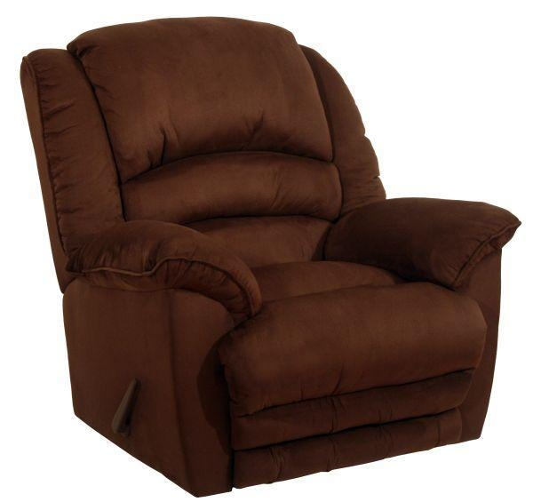 Heat And Massage Recliners Revolver Chocolate Heat And