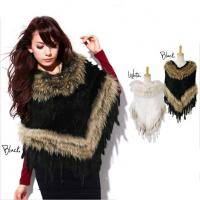 China Knitted fur cape on sale