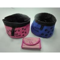 China dog travel water food bowls on sale