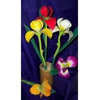 Buy cheap Large Hand Carved Iris from wholesalers