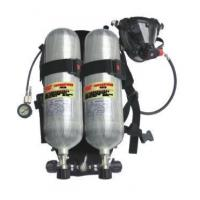 Buy cheap Back rack double bottle air respirator from wholesalers