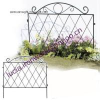 Wholesale mental garden trellis/fence from china suppliers